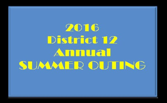 2016 summer outing