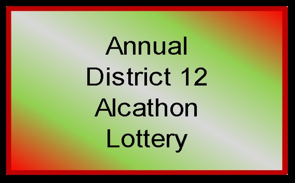 Alcathon Lottery Button